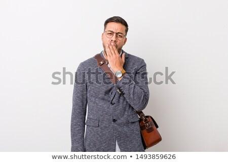Mężczyzna wykonawczej biały młodych działalności Zdjęcia stock © wavebreak_media