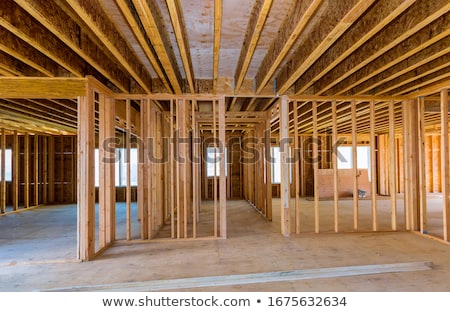 New Home Wood Frame Stock photo © ca2hill