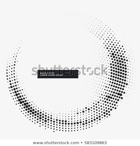 Mínimo circular medios tonos marco resumen patrón Foto stock © SArts