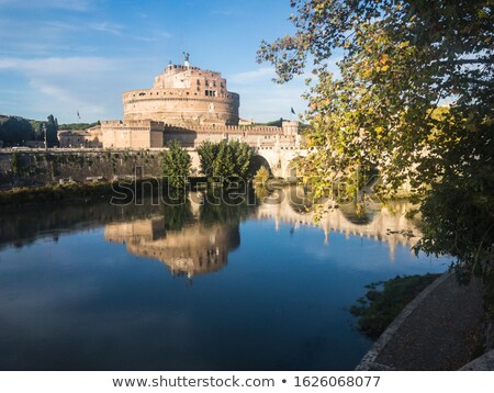 Mausolée pont Rome Italie bâtiment ville Photo stock © Givaga