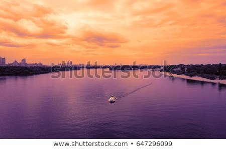 Bridge on the River Dnipro in Kyiv Stock photo © Kotenko