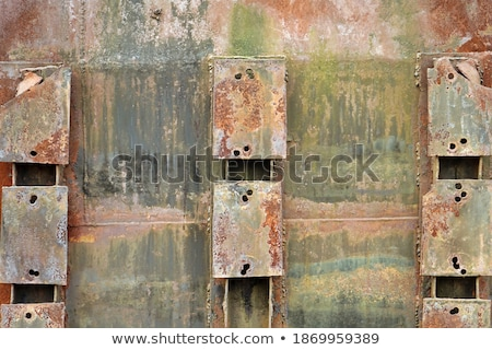 old green repair wall with scratch Stock photo © romvo