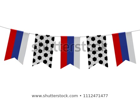 Сток-фото: гирлянда · Команды · русский · Футбол · игры · лет