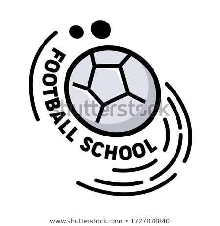 Soccer, Football design background, education team, college, school, club, vector illustration. Stock photo © ikopylov