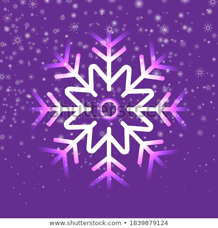 abstract · nacht · magie · sneeuwval · christmas · vector - stockfoto © swillskill