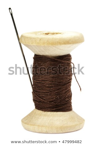 spool of brown threads  Stock photo © OleksandrO