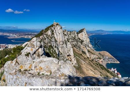 日 · 表示 · ジブラルタル · 英国の - ストックフォト © jeayesy