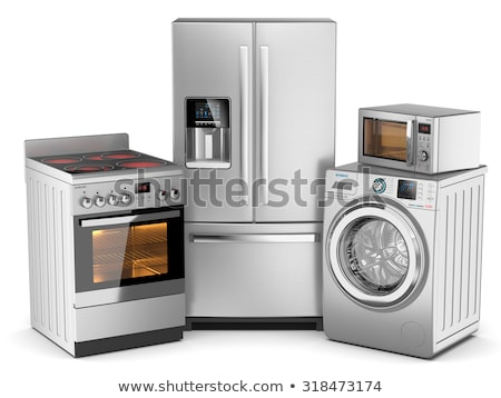 Repair home on white background. Isolated 3D illustration Stock photo © ISerg
