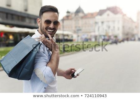 Netzwerk · Menschen · Handys · Freunde · Familie · Telefon - stock foto © deandrobot