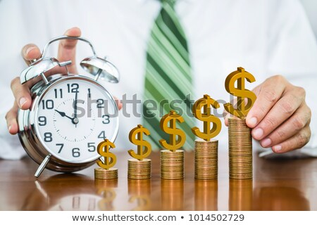стороны · будильник · мужчины · ретро · часы - Сток-фото © andreypopov