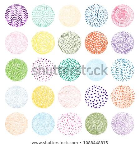 Geometric Banners Set In Various Colors Stockfoto © Pravokrugulnik