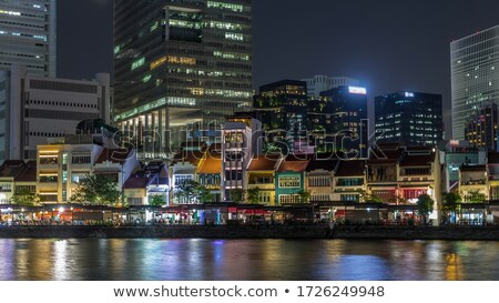 Centraal boot kade mall Singapore 15 Stockfoto © joyr