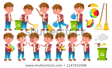kid · recycling · kind · gezondheid · aarde - stockfoto © pikepicture