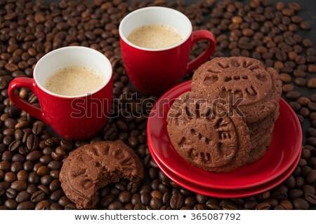 Bisküvi sevmek bo gıda damga hediye Stok fotoğraf © grafvision