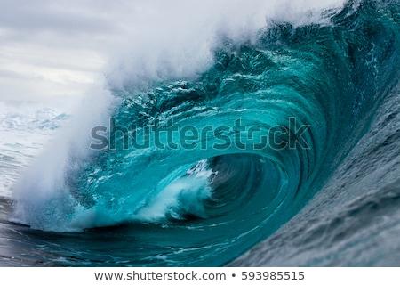 strand · speelgoed · zand · water · Blauw · leuk - stockfoto © colematt