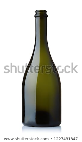 Green Champagne Bottle Open Neck Stock photo © albund