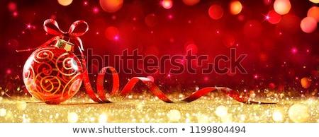 christmas · gelukkig · kinderen · klein · papieren - stockfoto © marilyna