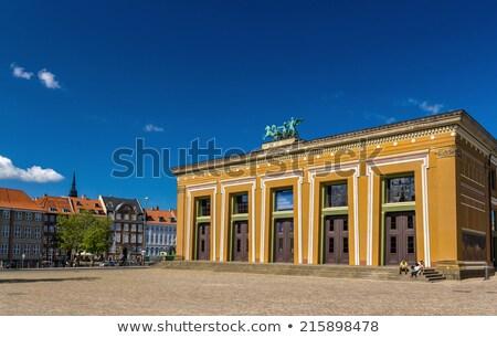 Musée Copenhague Danemark dévoué art sculpteur Photo stock © borisb17