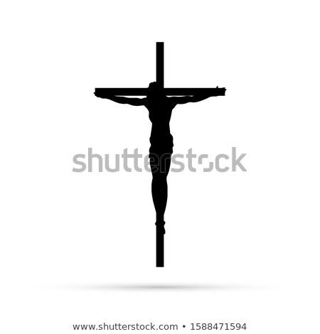 Crucifixion silhouette  stock photo © mayboro