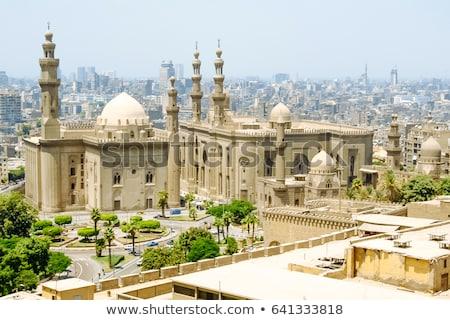 Cairo vista mezquita edificio viaje horizonte Foto stock © Givaga