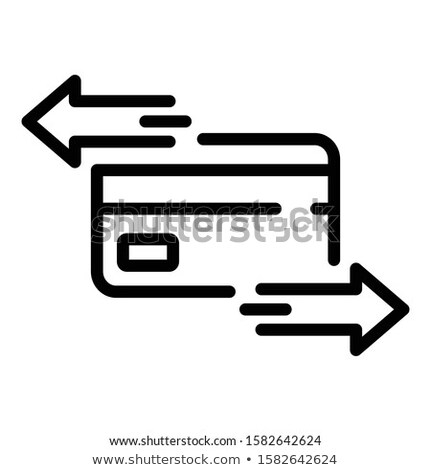 Document cyclus icon vector schets illustratie Stockfoto © pikepicture