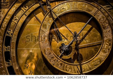 medieval clock stock photo © ca2hill