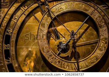 Medieval Clock Stock photo © ca2hill