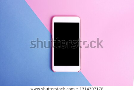 Pink case isolated on white Stock photo © shutswis