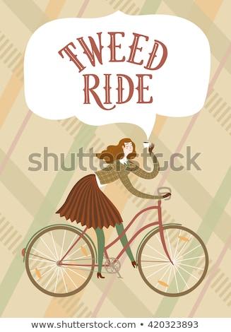 Tweed run poster Stock photo © sahua