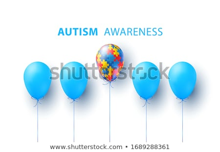Autism Awareness Idea Stock photo © Lightsource