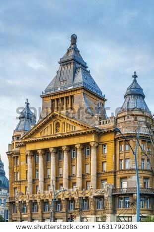 Paleis Boedapest Hongarije vierkante huis gebouw Stockfoto © borisb17