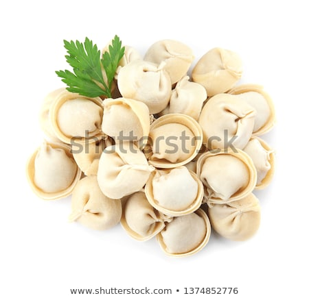 chinese raw dumplings stock photo © bbbar