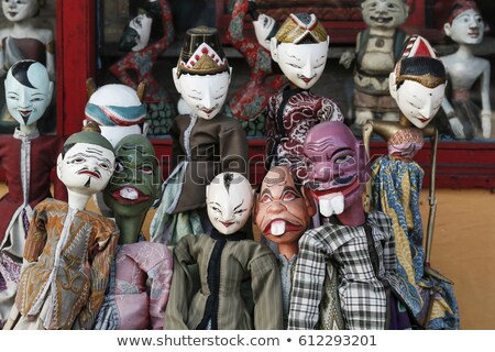 wooden puppet in bali indonesia Stock photo © travelphotography