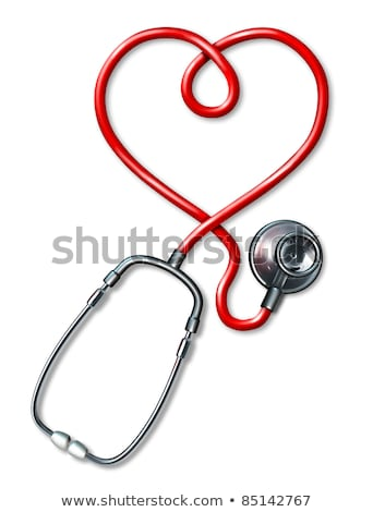 doctor auscultating plastic heart Stock photo © photography33
