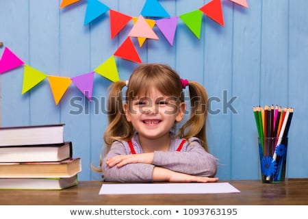 first grader girl stock photo © val_th