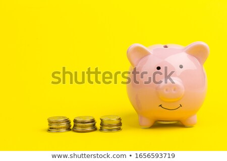 family of piggy banks with clipping path stock photo © sqback