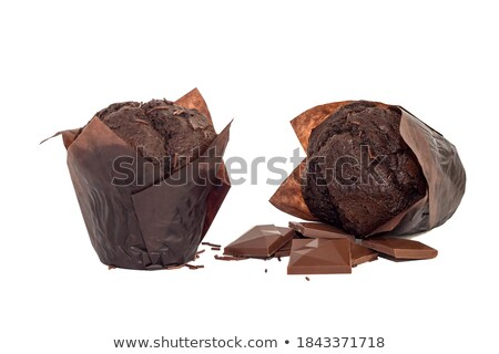Two chocolate muffins Stock photo © raphotos