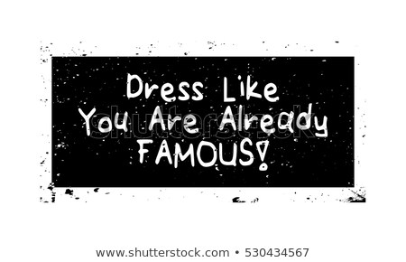 you like this dress stock photo © stockyimages