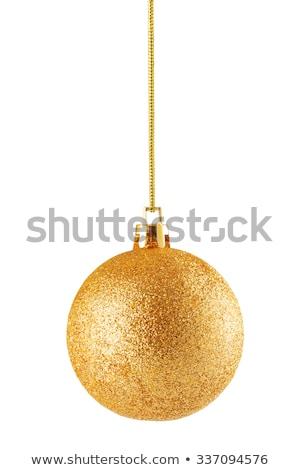 Dorado Navidad 2016 cinta diseno Foto stock © Voysla