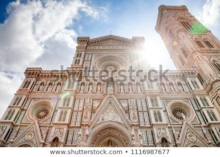 Façade ville mode église architecture gothique Photo stock © vwalakte