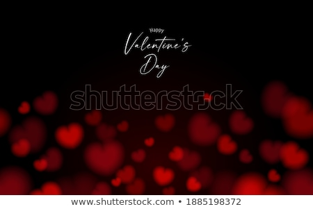 バレンタイン 赤 中心 黒板 文字 愛 ストックフォト © compuinfoto