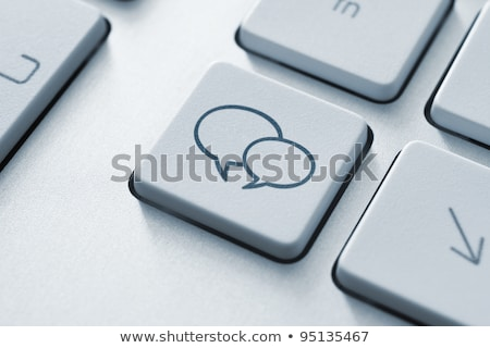 blogging services on keyboard key concept stock photo © tashatuvango