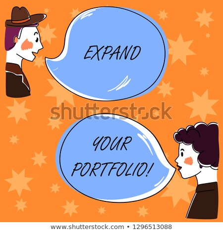 Stock photo: Expand Your Horizons - Business Concept on Speech Bubble.