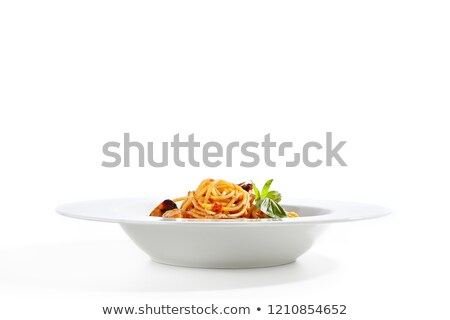 tomates · ajo · hojas · grano · de · pimienta · aislado · blanco - foto stock © furmanphoto