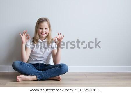 Ver bonitinho caucasiano aluna sessão Foto stock © wavebreak_media