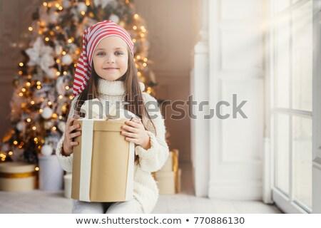Atış keyifli bakıyor küçük çocuk Stok fotoğraf © vkstudio