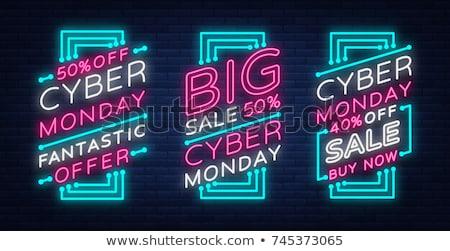 Computers elektronica adverteren banner vector stereo Stockfoto © pikepicture