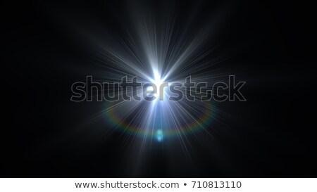 Güneş ışığı özel objektif flaş ışık etki Stok fotoğraf © olehsvetiukha