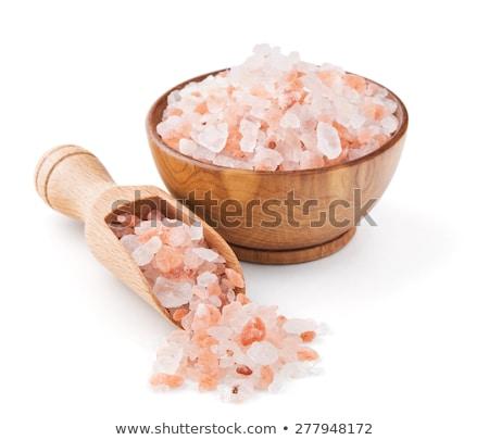 Himalayan pink rock salt  Stock photo © grafvision