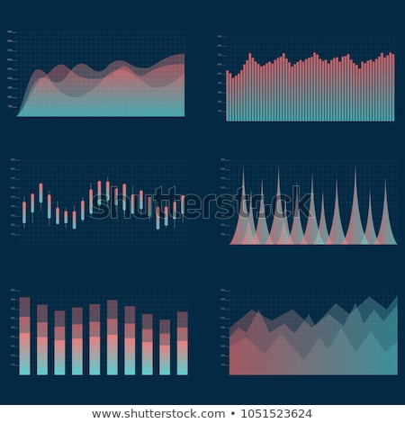 Graphic or Statistical Chart, Scale and Columns Stock photo © robuart